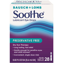 Soothe Long Lasting Lubricant Eye Drops