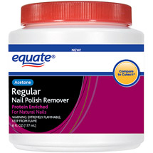 Equate Acetone Regular Nail Polish Remover Dip