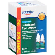 Equate Long Lasting Lubricant Eye Drops
