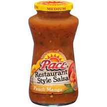 Pace Peach Mango Medium Restaurant Style Salsa