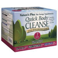 Nature's Plus 3-Part System Quick Body Cleanse