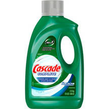 Cascade With Bleach All In 1 Complete Dishwasher Dish Detergent Fresh Rapids