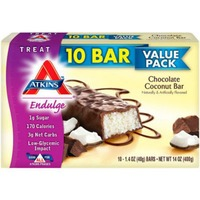 Atkins Endulge Value Pack Chocolate Coconut Bar - 10 CT