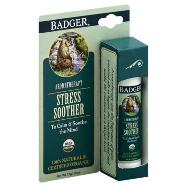 Badger Tangerine & Rosemary Headache Soother