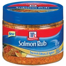 Golden Dipt Sweet Citrus & Spice Salmon Rub