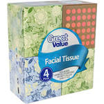 Great Value Facial Tissues