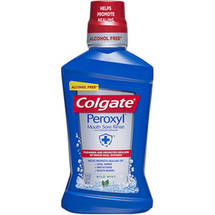 Colgate Peroxyl Mild Mint Mouth Sore Rinse