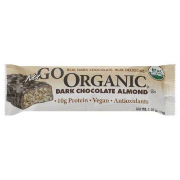 NuGo Organic Dark Chocolate Almond Nutrition Bar
