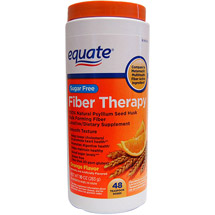 Equate Sugar Free Orange Flavor Fiber Therapy