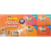 Friskies Chicken 32 Count Variety Pack