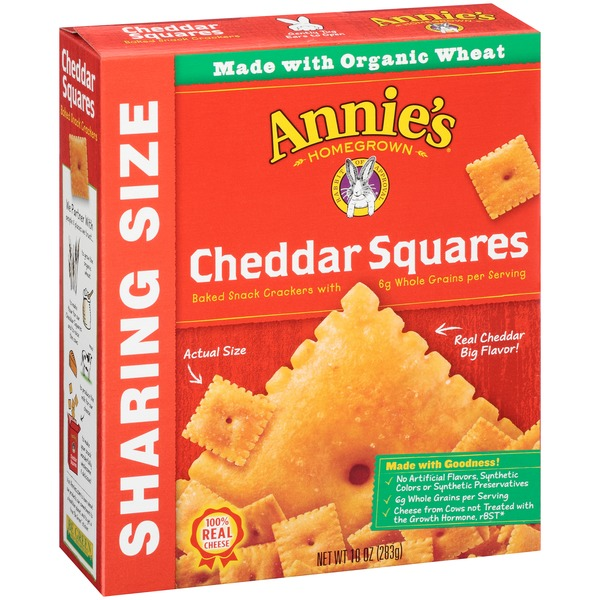 Annie's Homegrown Cheddar Squares