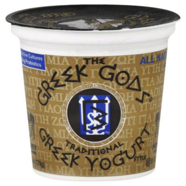 The Greek Gods Yogurt, Greek, Traditional, Honey Flavored
