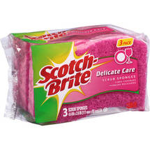 Scotch-Brite Delicate Care Scrub Sponge