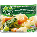 Green Giant Steamers Broccoli Carrots Cauliflower & Cheese Sauce