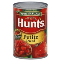 Hunt's Petite Diced Tomatoes