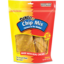 Dingo Chip Mix Rawhide Chews With Chicken