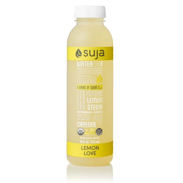 Suja Lemon Love Juice Drink
