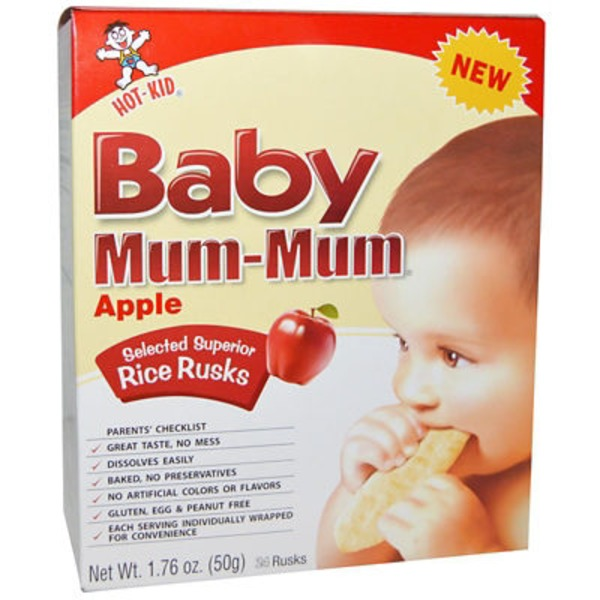 Hot Kid Biscuits, Apple, Baby, Box