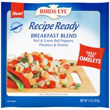 Birds Eye Recipe Ready Breakfast Blend Peppers Potatoes & Onions