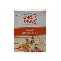Whole Paws Pumpkin Small Dog Biscuits