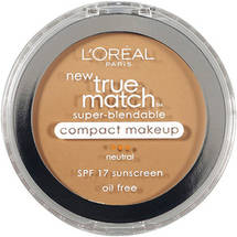 L'oreal Neutral/Buff Beige N4 True Match Super-Blendable Compact Makeup .3 oz
