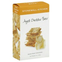 Stonewall Kitchen Crackers, Down East, Aged Cheddar Beer