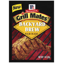 McCormick Backyard Brew Grill Mates Marinade Mix