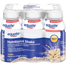 Equate Vanilla Nutritional Shake
