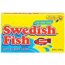 Swedish Soft & Chewy Fish Candy Boxes