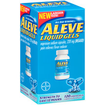 Aleve Liquid Gels Pain Reliever/Fever Reducer Capsules