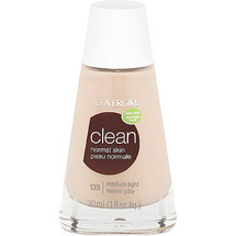 CoverGirl Clean Liquid Make Up Foundation MEDIUM LIGHT 135