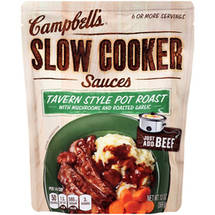 Campbell's Slow Cooker Sauces Tavern Style Pot Roast