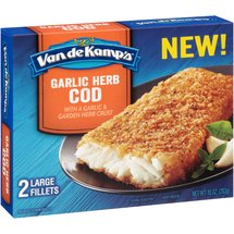 Van de Kamp's Garlic Herb Cod Fillets