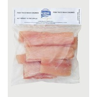 Ocean Jewel Frozen Fish Taco Mahi Chunks