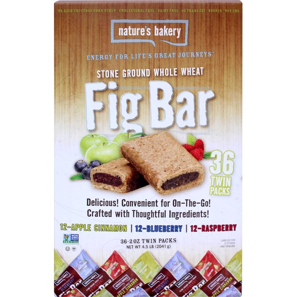 Nature's Bakery Stone Ground Whole Wheat Fig Bars Variety Pack