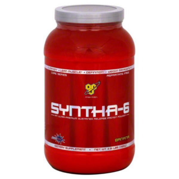 BSN Syntha 6 Banana Ultra Premium Sustained Release Protein Powder