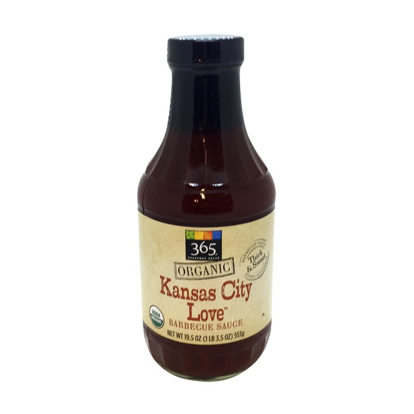 365 Organic Kansas City Love BBQ Sauce