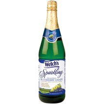 Welch's Sparkling Non-Alcoholic Blueberry Grape Flavored Juice Cocktail Blend