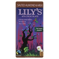 Lily's 40% Chocolate Salted Almond & Milk