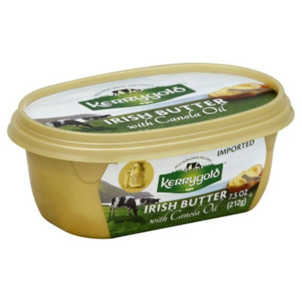 Kerrygold Butter Spreadable with Canola Oil Tub