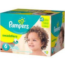 Pampers Swaddlers Diapers Super Pack Size 6