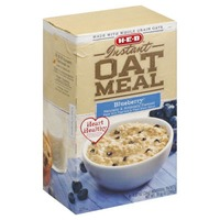H-E-B Instant Oatmeal Blueberry Naturally And Artificially Flavored