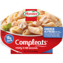 Hormel Chicken Alfredo w/Penne Pasta Compleats Microwave Bowls
