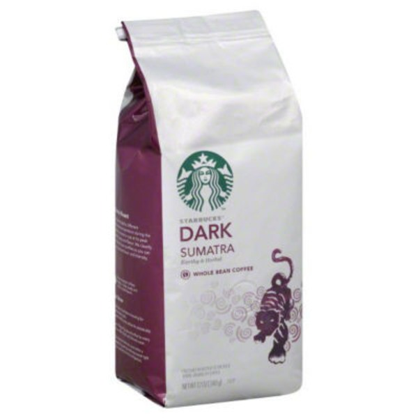 Starbucks Dark Sumatra Whole Bean Coffee