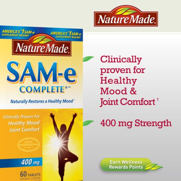 Nature Made Sam-E Complete 400mg Tablets
