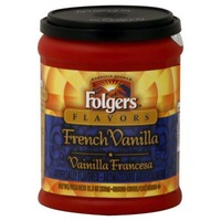 Folgers Ground Coffee French Vanilla