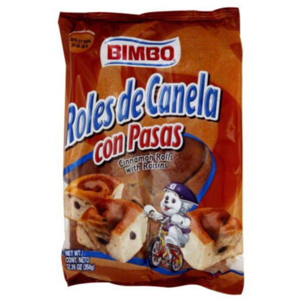 Bimbo Cinnamon Rolls, with Raisins