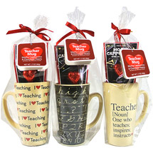 Valentine Teacher Mug Gift Set