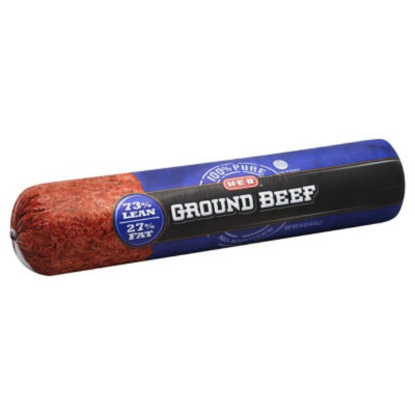H-E-B 73% Lean Ground Beef