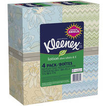 Kleenex Lotion Facial Tissue